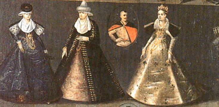 Polish noblewomen, early 17th century
