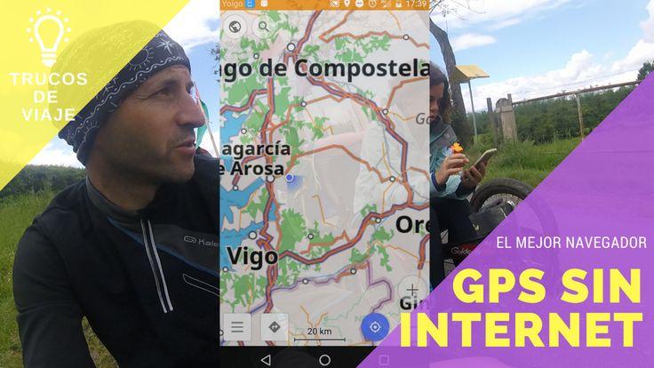 Presentamos el mejor navegador GPS sin internet para hacer un largo viaje en bicicleta. Toda la información que necesitas para perderte por el mundo.