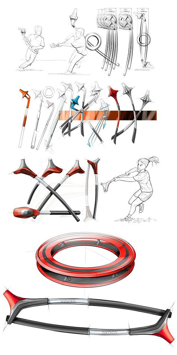 design of a new sport for YOU.FO on Behance