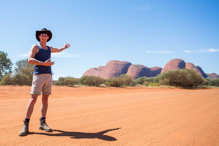 Outback Matty travelling in Australia