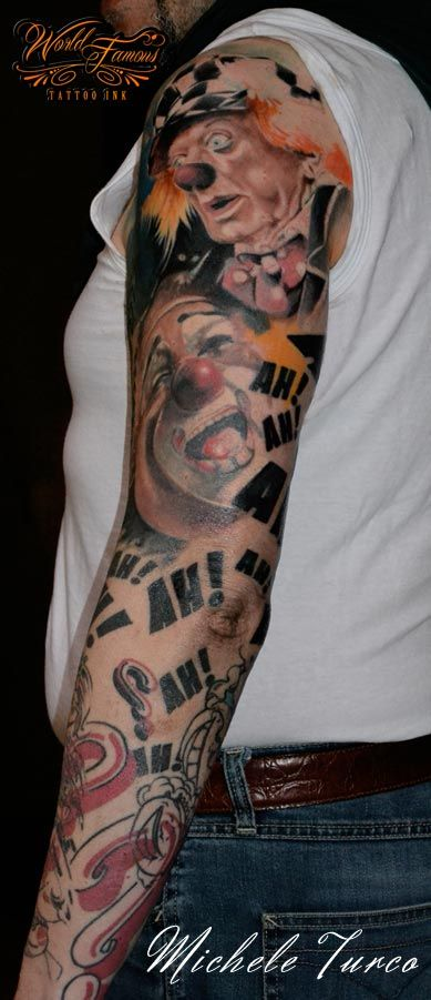 Full arm dedicated to clowns - work in progress