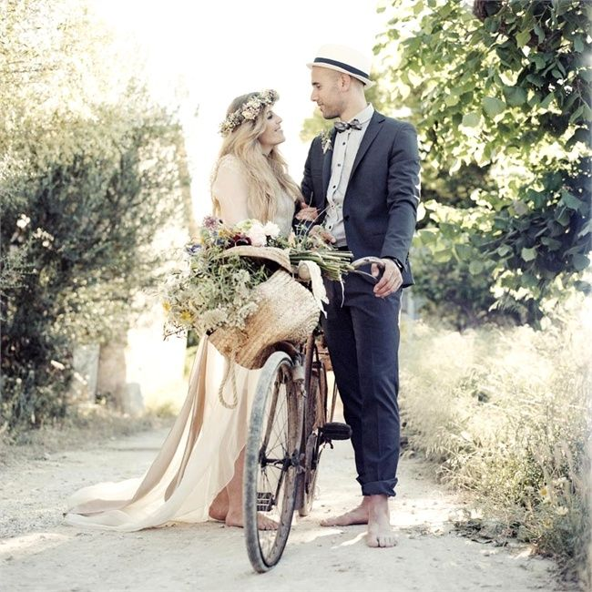 Boho weddings in South-West France: Events by Samantha Bottomley. www.samanthabottomley.com