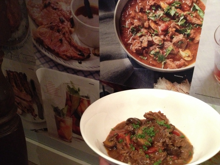Goulash of beef, spiced with smoked pimenton