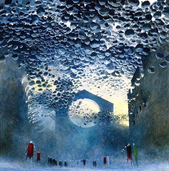Zdzislaw Beksinski Gallery: Beksinski paintings from 1980