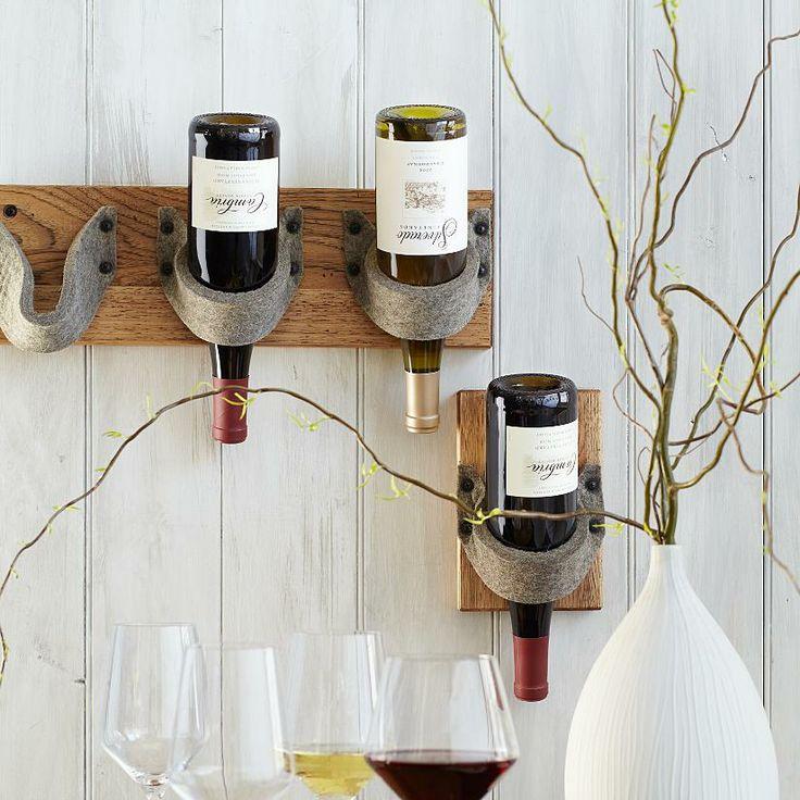 115 best wine bottles corks caps images on pinterest for Diy wine bottle storage