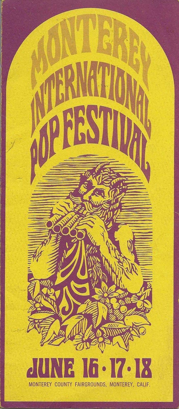 1967 Monterey Pop Festival Jimi Hendrix, Janis Joplin Concert Handbill,Tix. Form | eBay