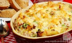 Tuna Mornay is a tremendously frugal dinner and tasty too! You can substitute the tuna for salmon!