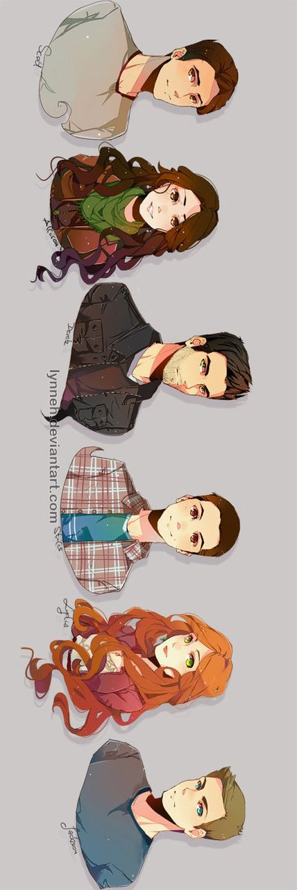 Awesome fan art Teen Wolf season 1