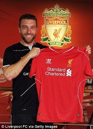 Rickie Lambert of Liverpool FC