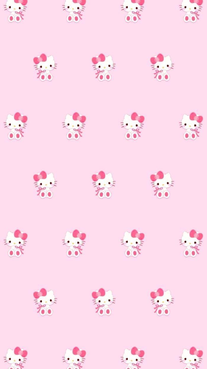 Pin Lauren Bergeron On Hello Kitty Pink Wallpaper Hello Within The Brilliant Hello Kitty Ba In 2020 Pink Wallpaper Hello Kitty Hello Kitty Backgrounds Pink Hello Kitty
