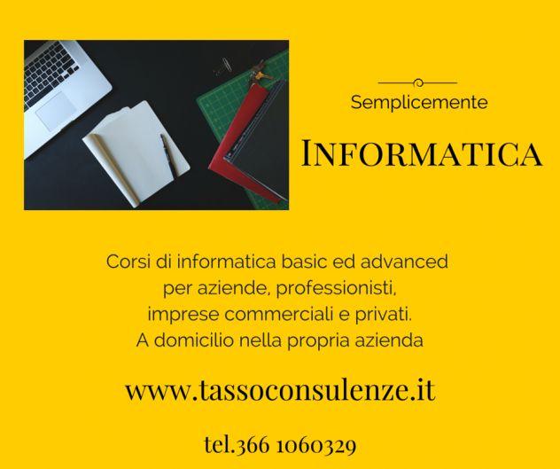 Lezioni di informatica - corsi di lingua e lezioni Verona