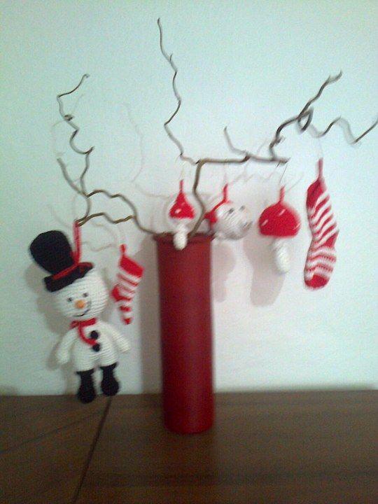 zkouška vánoční dekorace