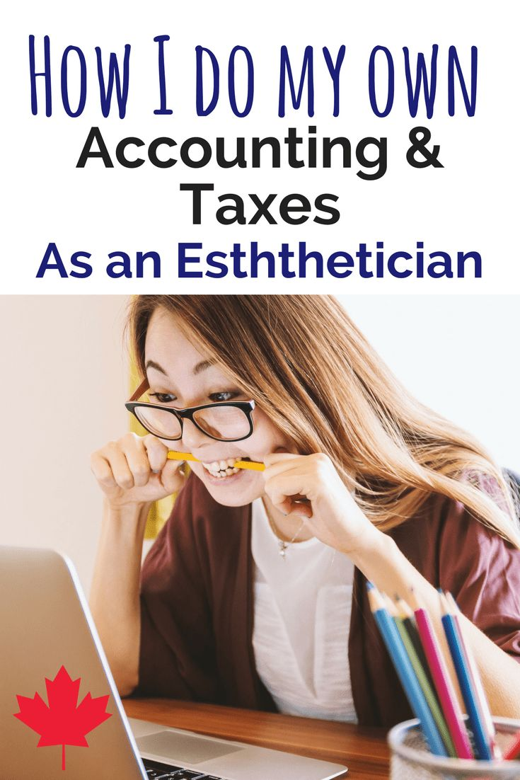 📝Accounting and taxes for self-employed estheticians, nail techs, lash techs and more📝 Click to read the blog post!📝