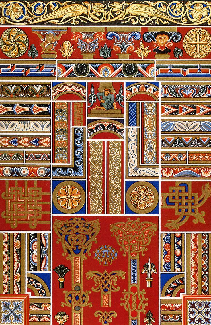 средневековые орнаменты и узоры: 9 тыс изображений найдено в Яндекс.Картинках