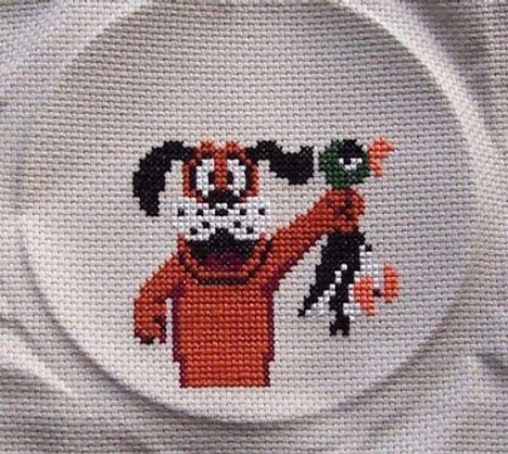 Cross stitch video game