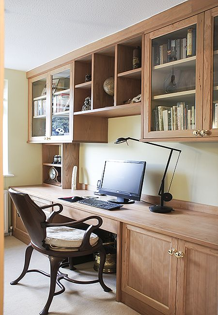 Fitted home Study Furniture Home study design, Furniture