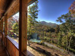 Views From Elk Crossingu0027s Front Porch. Bryson City Cabin Rentals   Bryson  City, ...
