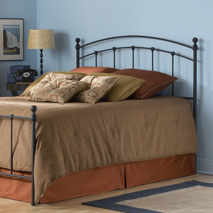 Features:  -Includes a headboard, instructions, and hardware bag with everything needed for assembly.  -Carbon steel panel designed with (3) castings and rounded final posts.  Finish: -Mat