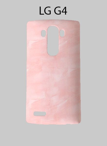 Pink Watercolor LG G4 Case Cover