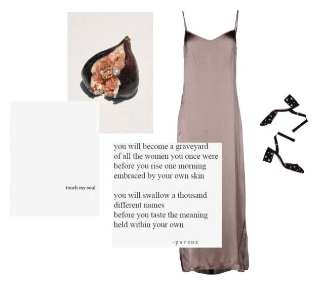 """Touch my soul and sing me to sleep"" by vesleku on Polyvore featuring Trouvaille, P.A.R.O.S.H. and RED Valentino"