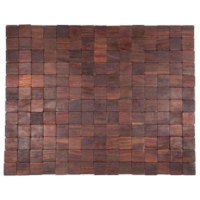 Mather Natural Wood Doormat #williamssonoma