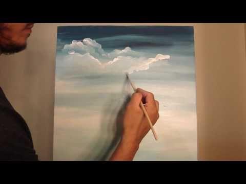 M s de 25 ideas incre bles sobre pintar nubes en pinterest - Aprender a pintar paredes ...