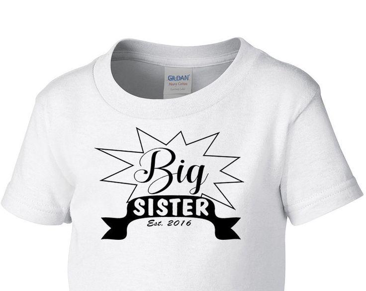 Big Sister Shirt, Toddler T-Shirt, Birthday Gift, shirt Holiday Shirt, Believe, big sister shirt