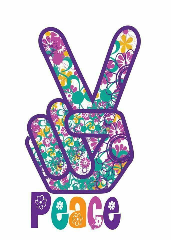 Pinterest • The world's catalog of ideas  |Peace And Love Purple