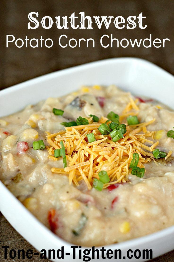 potato corn chowder corn chowder recipes soup recipes yummy recipes ...