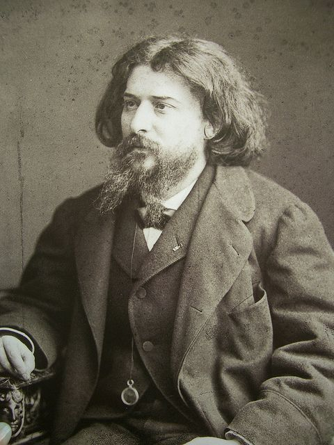 Alphonse Daudet par Nadar (1891)