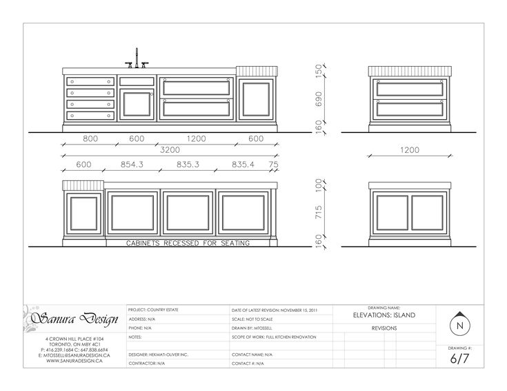 A Detailed Elevation Of A Traditional Kitchen Featuring Faced Framed Cabinetry And Timeless