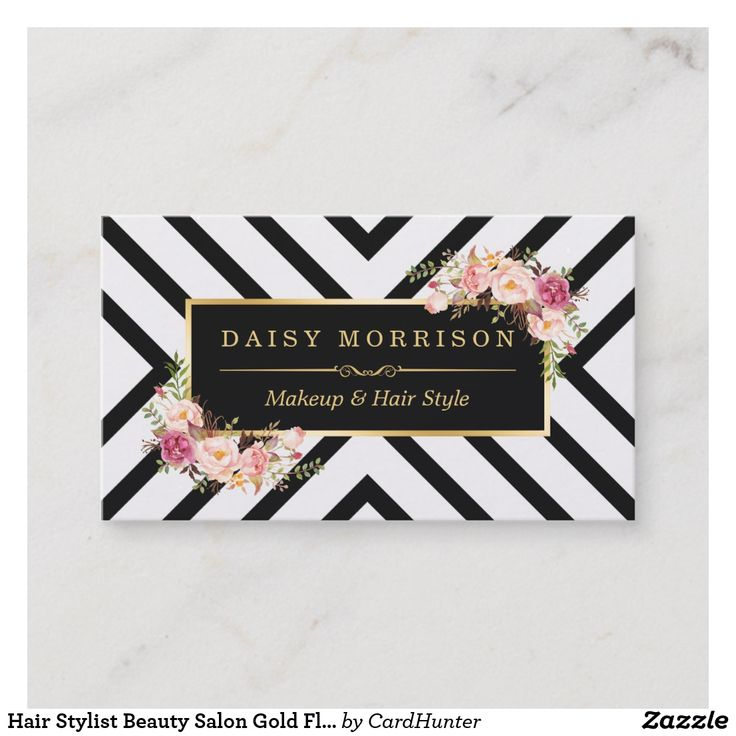 """Hair Stylist Beauty Salon Gold Floral Appointment AD-Hair Stylist Beauty Salon Gold Floral Appointment Create your own Appointment Card with this stylish """"Hair Stylist Beauty Salon Gold Floral"""" template. It's easy and fun!"""