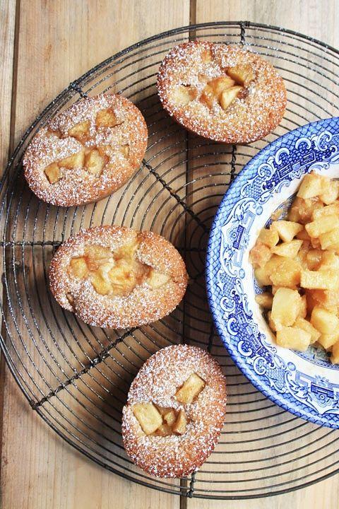 Apple Cinnamon and Ricotta Friands