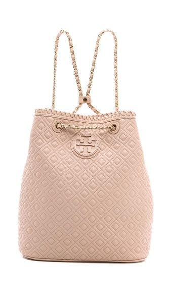 Tory Burch Marion Quilted Backpack €371.42 | $495.00