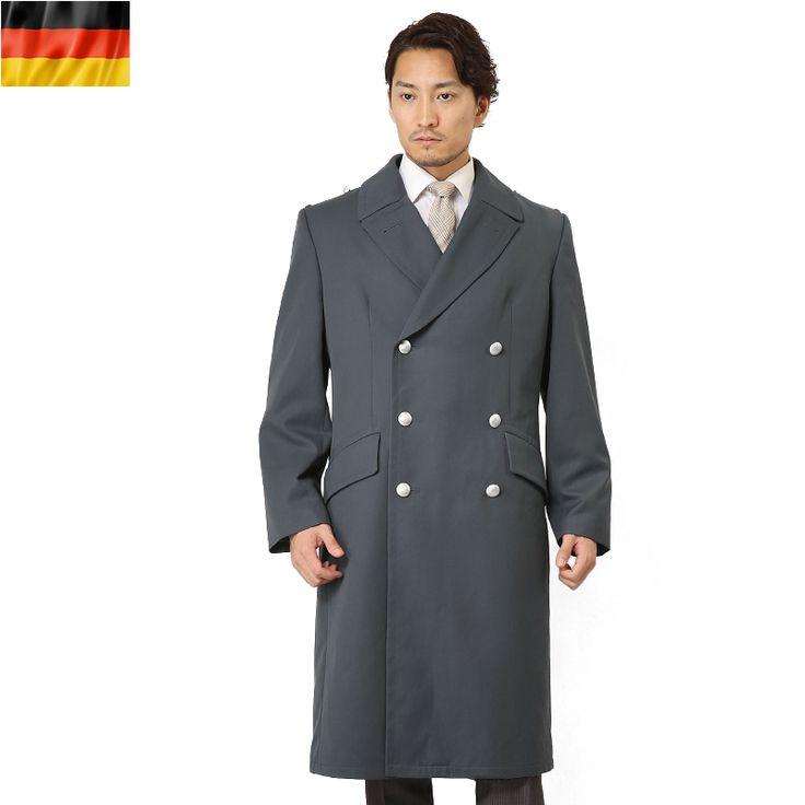 【楽天市場】ミリタリー 実物 ドイツ軍グレーオーバーコート メンズ mss WIP:ミリタリーセレクトショップWIP