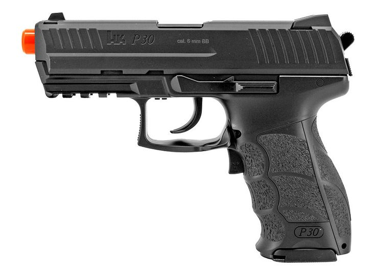 Heckler & Koch 2273010 Air Soft Pistol P30 6 mm 16 Round/Black #HecklerKoch