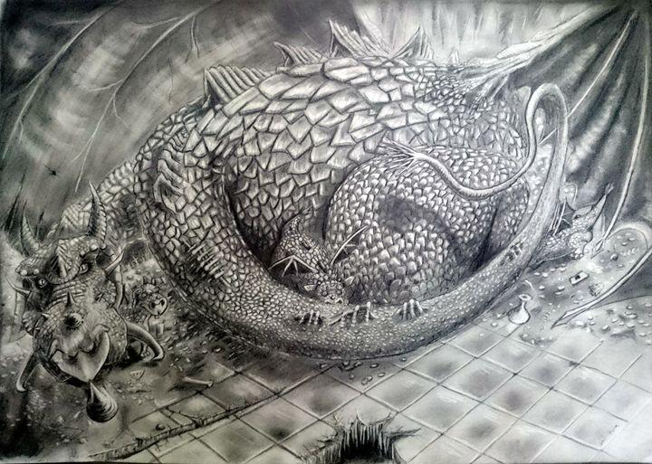 Mother Dragon - TiJa Art