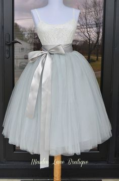 Hey, I found this really awesome Etsy listing at https://www.etsy.com/listing/214426422/womens-tutu-gray-tulle-skirt-silver