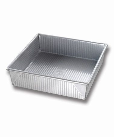 Another great find on #zulily! 8'' Square Nonstick Cake Pan #zulilyfinds