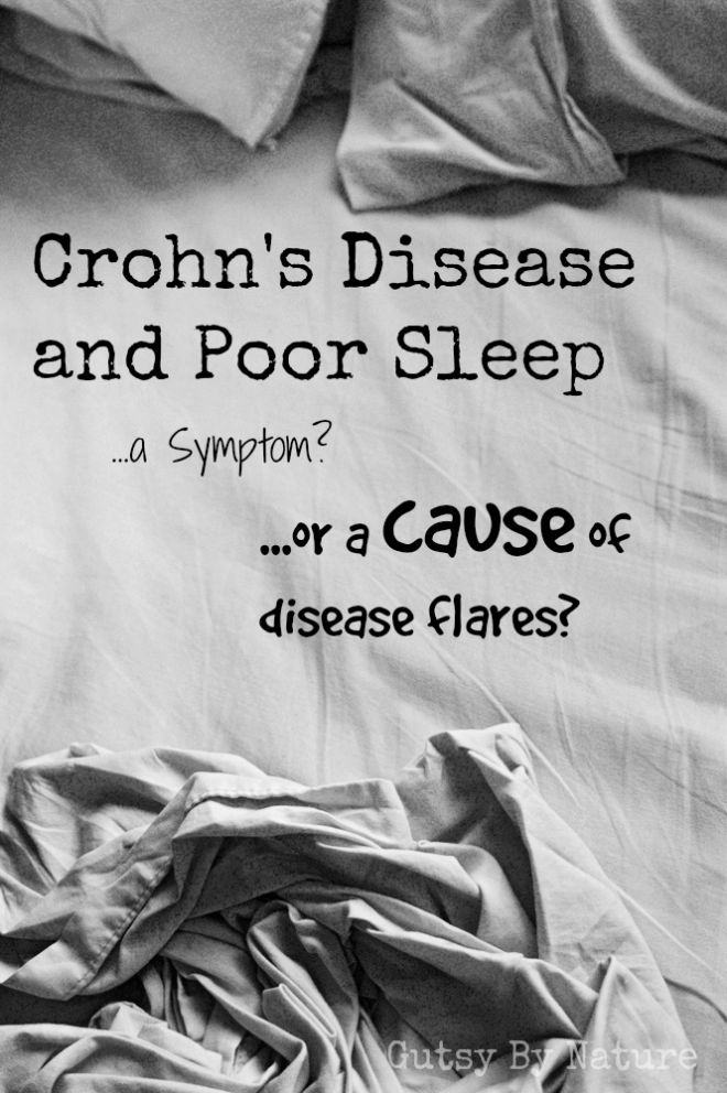 Crohn's Disease and Poor Sleep: Symptom or Cause? - Gutsy By Nature