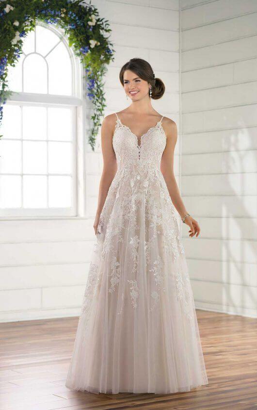 Sweet Backless Wedding Dress | Pinterest | Backless wedding, Wedding ...