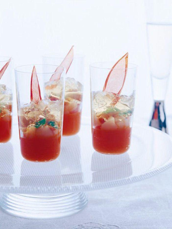 にんじんのピューレ、うに、帆立との相性抜群。インパクト大のアミューズ|『ELLE gourmet(エル・グルメ)』はおしゃれで簡単なレシピが満載!