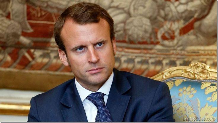 El presidente de Francia califica de dictadura el régimen de Maduro - http://www.leanoticias.com/2017/08/29/el-presidente-de-francia-califica-de-dictadura-el-regimen-de-maduro/
