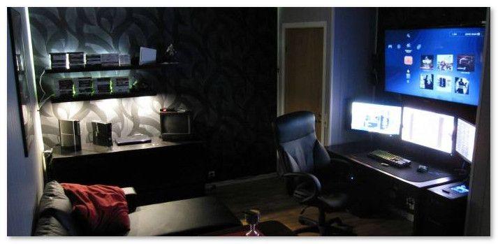 ruangan gelap untuk bermain game
