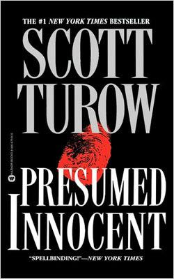 Presumed Innocent - Scott Turow - Loved the writing in this legal mystery as Prosecutor Rusty Sabich is transformed from accuser to accused when he is handed an explosive case -- that of the murder of a woman who was his former lover.