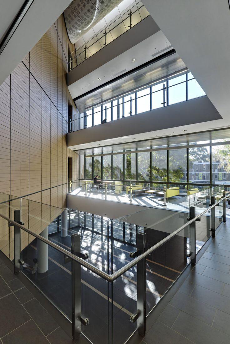 Entry atrium, Tyree Building, UNSW Australia