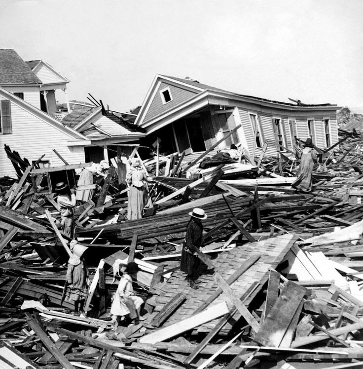 Worst hurricanes in U.S. history. 5 most destructive, deadly hurricanes through 1950