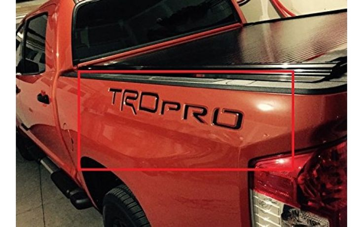 Toyota Tundra 2014-UP TRD Pro Letters Inserts