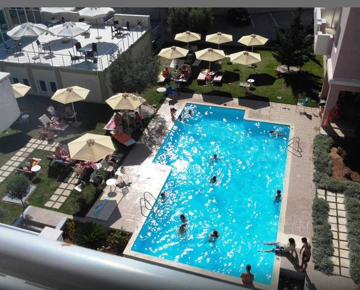 Panoramic view from our pool...to cool you off this summer in Greece  #summer #Greece