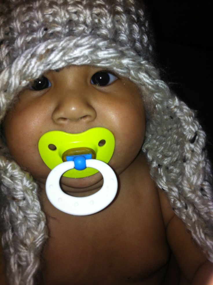 Loom Knit Baby Hat With Ear Flaps : Adult loom knit hat with ear flaps knifty knitter